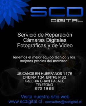 reparacion de camaras digitales y filmadoras santiago centro