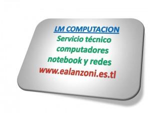 reparación, configuración, actualización de notebok, pc. redes utp y wi-fi