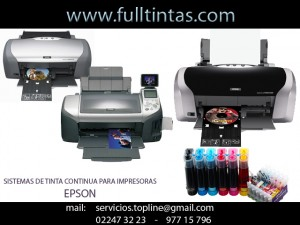 sistemas de tinta continua para impresoras