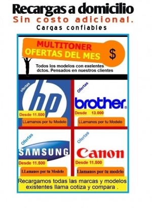 recargas de toner brother tn360,tn350