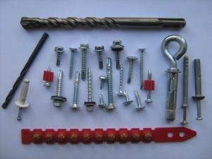 materiales fijaciones y anclajes -discos corte metal - brocas sds plus