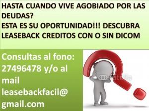 creditos con o sin dicom unico legal en chile ley 19.281