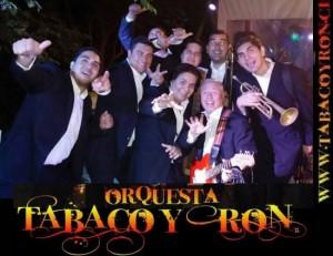 orquesta tabaco y ron en tu fiesta, carnaval o matrimonio