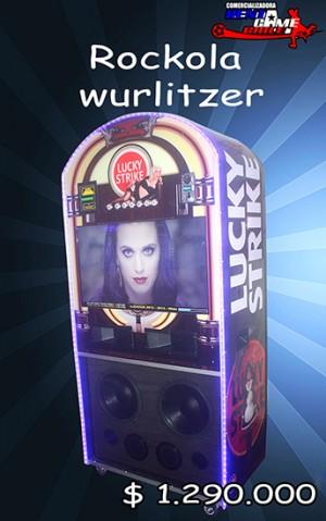 rockola - wurlitzer /novedad de rentagame precio: $ 1.290.000