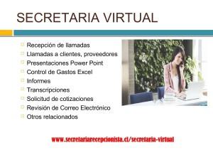 secretaria virtual chile diciembre 2018 secretarias virtuales chile