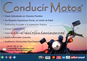 clases moto, v región, curso motocicleta, manejar motocicletas, conducir motos