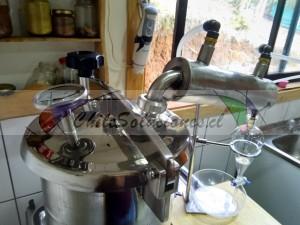 destiladores para extracción de aceites esenciales e hidrolatos