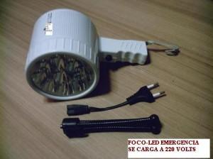 �para cortez de luz: foco de emergencia>>10 horas: iluminación�