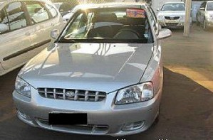 hyundai accent prime  full $3500000