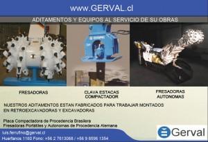 accesorios para excavadoras y retroexcavadoras gerval ltda
