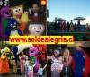 Barney, Mickey, Minnie, Winnie the Pooh y mas