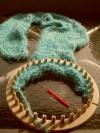 Aprende telar donde la Crissty, tejidos telar maya tunecino horquilla lana