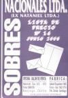 SOBRES Y SACOS DE RADIOGRAFIAS