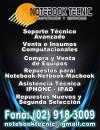 REPARACION Y SERVICIO TECNICO  AVANZADO  NOTEBOOK,PC,MAC ,NETBOOK