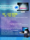 Servicio Tecnico a Domicilio Pc Netbook Notbook Outlook