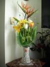 Decoración de Arreglos Florales Artificiales