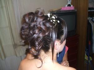peinado y maquillaje graduaciones fiestas