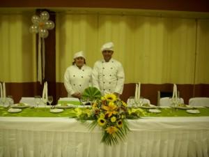servicios en concepcion para matrimonios, coctels, cenas especiales,