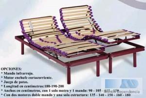 *camas articuladas electricas a precios increibles oulet llamenos 902.196.227  cama articulada eléctrica 90x190 cm  colchón de látex ó viscoelástico 90x190 cm