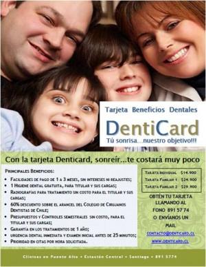 tarjeta beneficios dentales denticard-urgencias dentales-clinicas asociadas