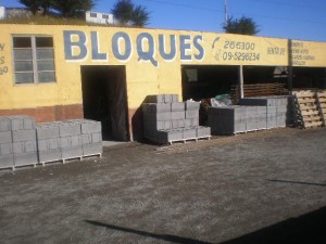 fabrica de bloques de hormigon
