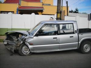 vendo camioneta chocada