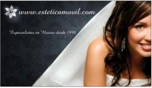 esteticamovil especialistas novias maquillaje peinado atencion a domicilio