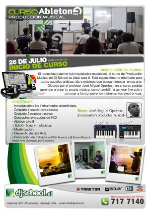 inicio curso ableton live produccion musical