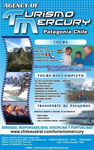 !!aquÌ reserva en linea!! tours patagonia chilena -argentina