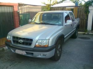 vendo camioneta chevrolet s10 apache deluxe año 2002 doble cabina
