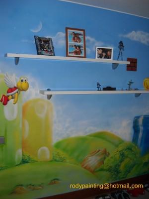 murales infantiles decorativos interior y exterior