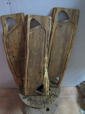 tablas para asados talladas a mano