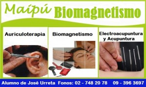 biomagnetismo y auriculoterapia maipu