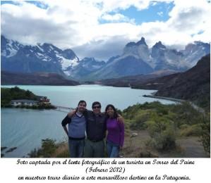 tour hacia torres del paine y glaciar perito moreno (argentina ) en este