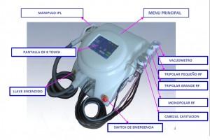 maquinas de estetica equipos estetica, depilacion laser, ipl