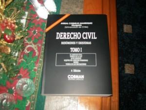derecho civil. resúmenes y esquemas, colección 2 tomos, edic. dic. 2012