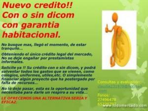 creditos con o sin dicom unico legal no se deje engañar unica empresa