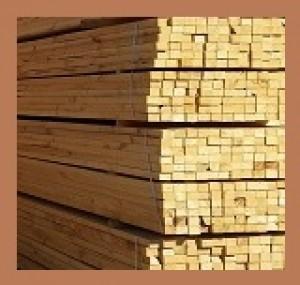 tablas de tapa, palos de 1 x 1, y más madera en bruto
