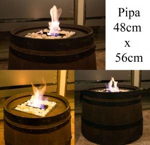 estufas calefactores a etanol en valparaiso y algarrobo