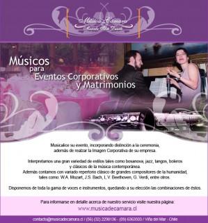 músicos clásicos para eventos de empresas, santiago