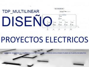 software o. proyecto electrico (excluyendo plano de planta) en minutos