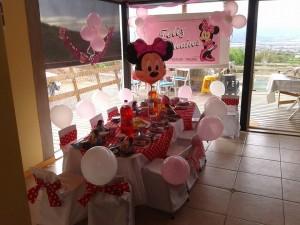 ¡¡montaje de cumpleaños infantiles. elige el tema y decoramos todo!!