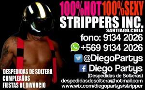 despedidas de solteras strippers vedettos a domicilio santiago chile