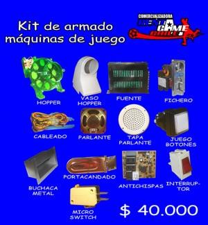 kit de armado maquinas de juego/precio: $ 40.000 pesos