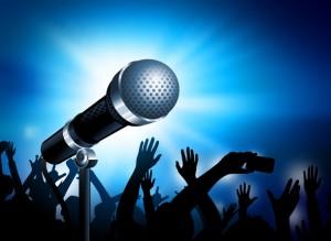 arriendo de amplificación para eventos karaoke. musica