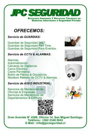 servicio de seguridad para su empresa, oficina u hogar