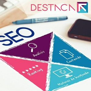 destaca, marketing online, posicionamiento web, diseño de páginas web,