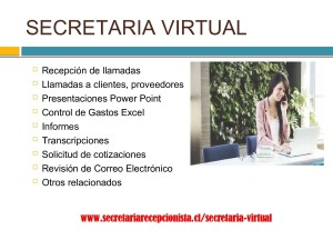 secretaria virtual chile diciembre 2018 secretarias virtuales chile
