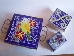 mosaiquista,trabajo todo tipo de mosaicos a pedido y tengo un gran surtido
