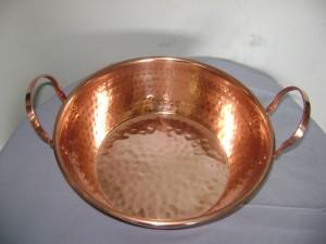 hermosos productos de cobre pailas, sartesnes cucharones, boll, espumadores